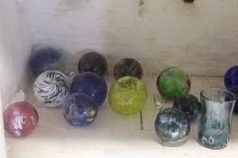 The previous day's haul warm from the kiln
