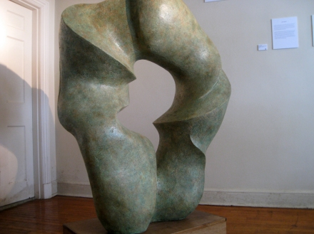 Bronze sculpture, artists unknown.